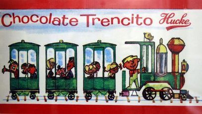 Chocolate Trencito Hucke