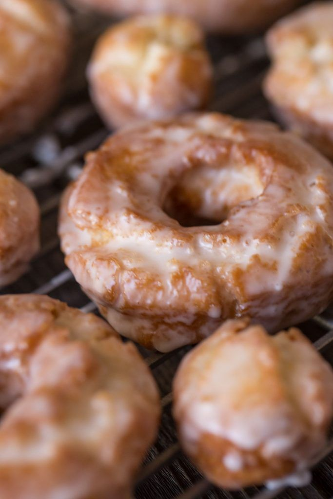 These Old Fashioned Buttermilk Donuts Are All About The Texture They Are Soft And Cakey On The Insid Donut Recipes Homemade Doughnut Recipe Homemade Doughnuts