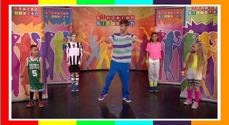 kinderen voor kinderen - klaar voor de start- dansinstructie
