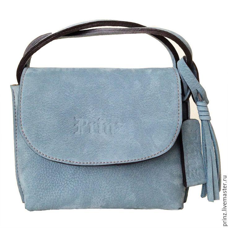 """Купить Сумочка """"Sky blue"""" - сумочки через плечо, Кожаные, клатч, магазин сумок"""