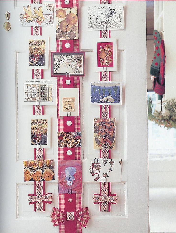 christmas card wall hangers credainatcon com