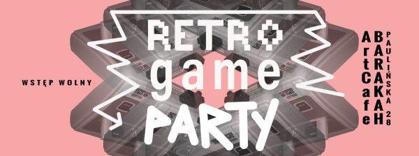 ArtCafe Barakah - Retro Game Party_grafika