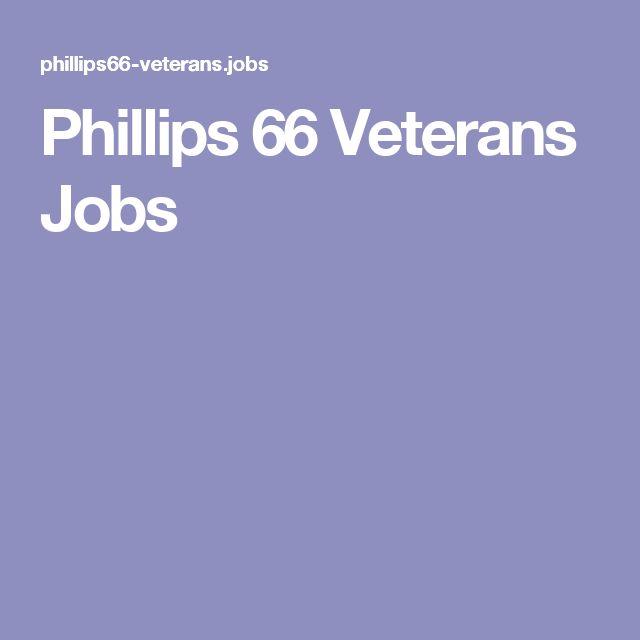 Phillips 66 Veterans Jobs