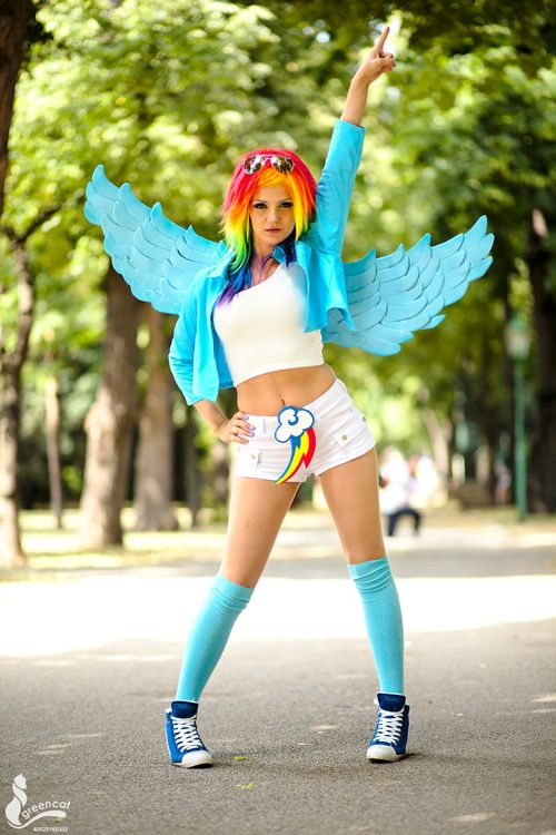 Rainbow Dash MLP Cosplay