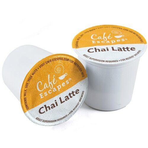Cafe Escapes Cha...K Cup Chai Tea