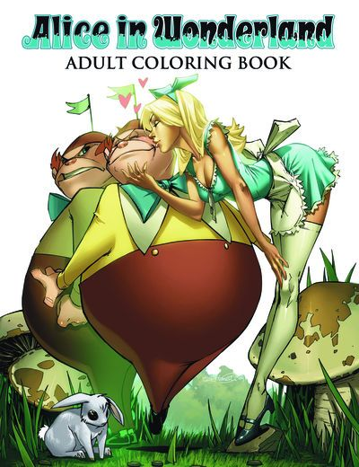 DEAL OF THE DAY Alice In Wonderland Adult Coloring Book WAS: $12.99 NOW: $7.00  LIMITED SUPPLIES LEFT - HURRY!  Zenescope collects some of its most popular and iconic cover artwork from one of the best-selling comic book series of the past decade in this fun and fantastic coloring book for all ages!   TO BUY CLICK ON LINK BELOW http://tomatovisiontv.wix.com/tomatovision2#!comics/cfvg