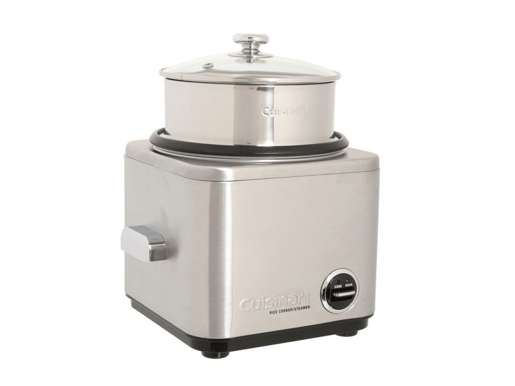 Cuisinart Rice Cooker Steamer with Brushed Stainless Steel