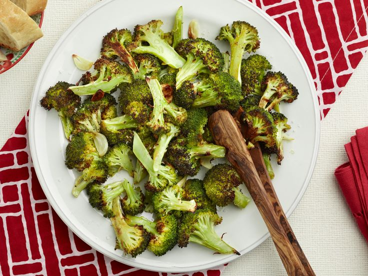 Roasted Broccoli with Garlic Recipe : Food Network Kitchen : Food Network - FoodNetwork.com