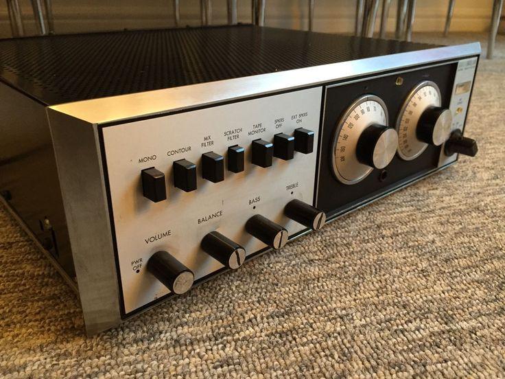 Vintage Rare Klh Model Twenty Seven 27 60s Hifi Amplifier IntegratedSeparate Amp | eBay