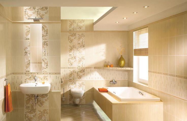 керамическая плитка  для ванной комнаты Paradyz Begonia