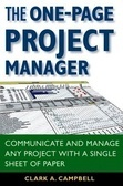 The One-Page Project Manager - aNobii