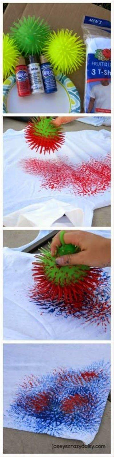 Tutoriales y DIYs: Técnica para pintar camisetas
