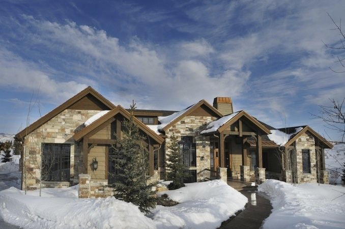 16 best images about exterior homes on pinterest home for Best home designs utah