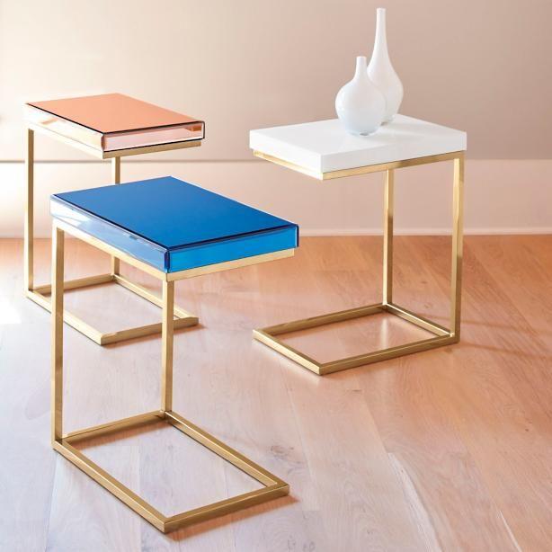 C Shaped Table For Sofa Thesofa