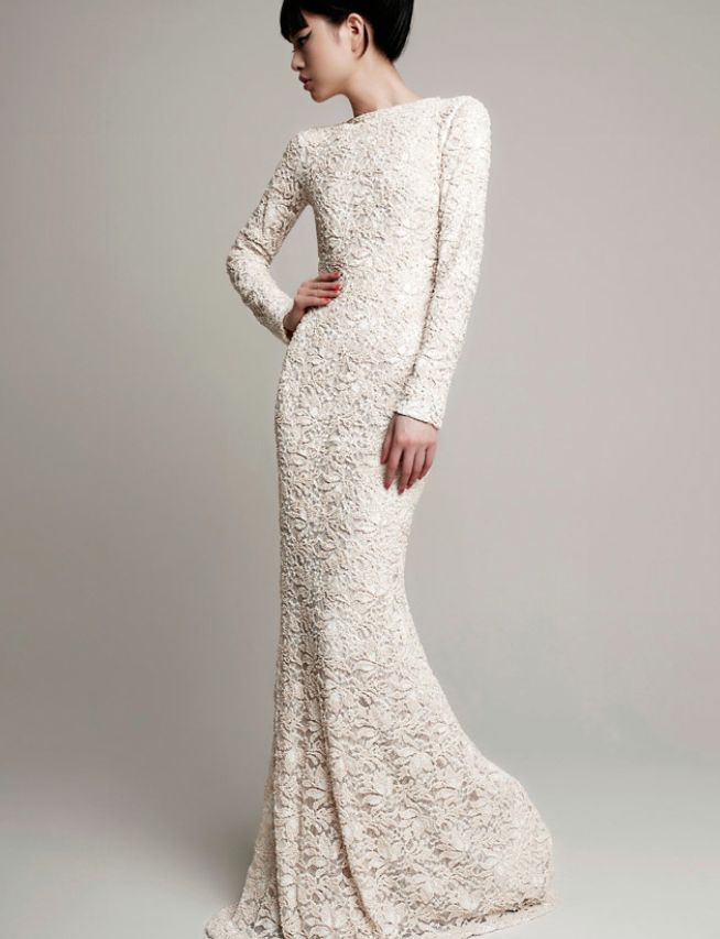 Yolan Cris Wedding Dresses 2014 Bridal Collection. To see more: http://www.modwedding.com/2014/07/10/yolan-cris-wedding-dresses-2014-bridal-collection/ #wedding #weddings #wedding_dress