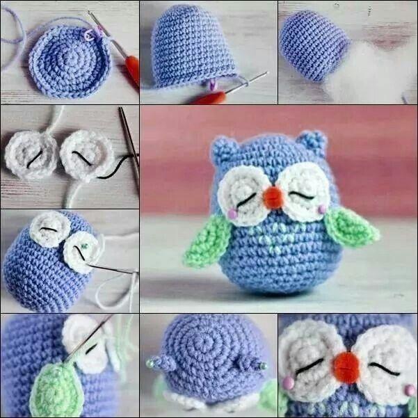 Little blue owl