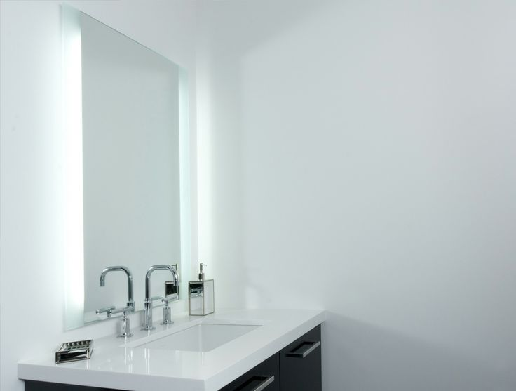 Bathroom Mirrors Toronto 23 best back-lit mirrors images on pinterest | illuminated mirrors