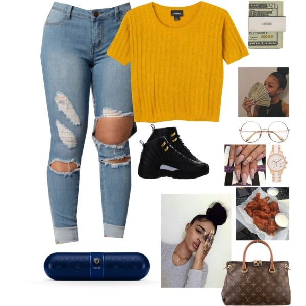 A fashion look from July 2016 featuring Monki t-shirts, Louis Vuitton bags and Michael Kors watches. Browse and shop related looks.