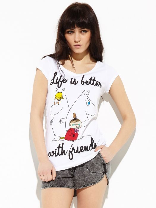 T-shirt with Moomins – Reserved
