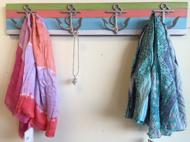 Outdoor towel rack 4 anchors beach house mudroom shower bathroom lake house beach cottage nursery BeachHouseDreamsHome Outer Banks OBX by BeachHouseDreamsHome on Etsy https://www.etsy.com/listing/117077257/outdoor-towel-rack-4-anchors-beach-house