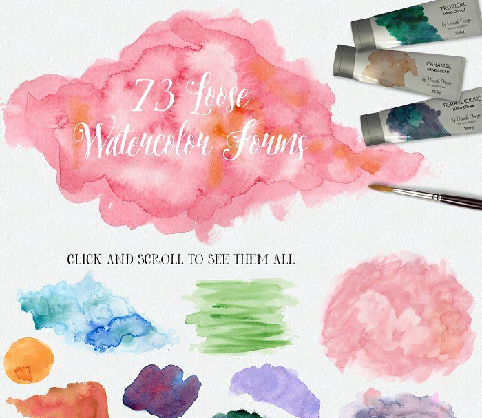 Watercolor Therapy Textures Watercolor Therapy Textures