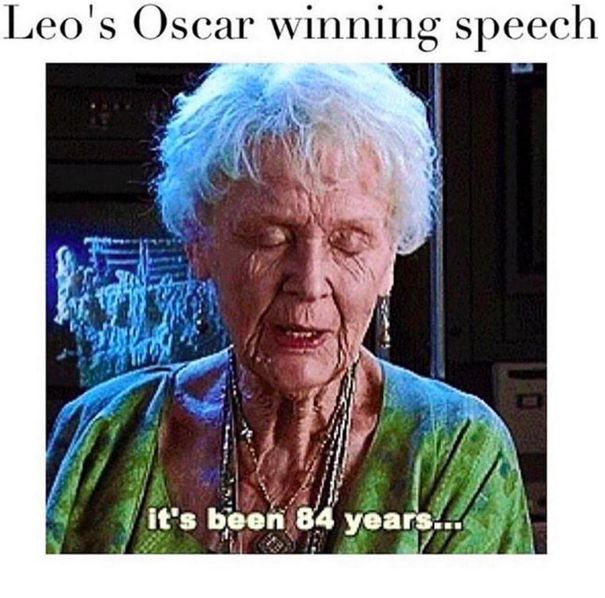 Leo has suffered. We have suffered with him. | Leonardo DiCaprio Finally Won An Oscar