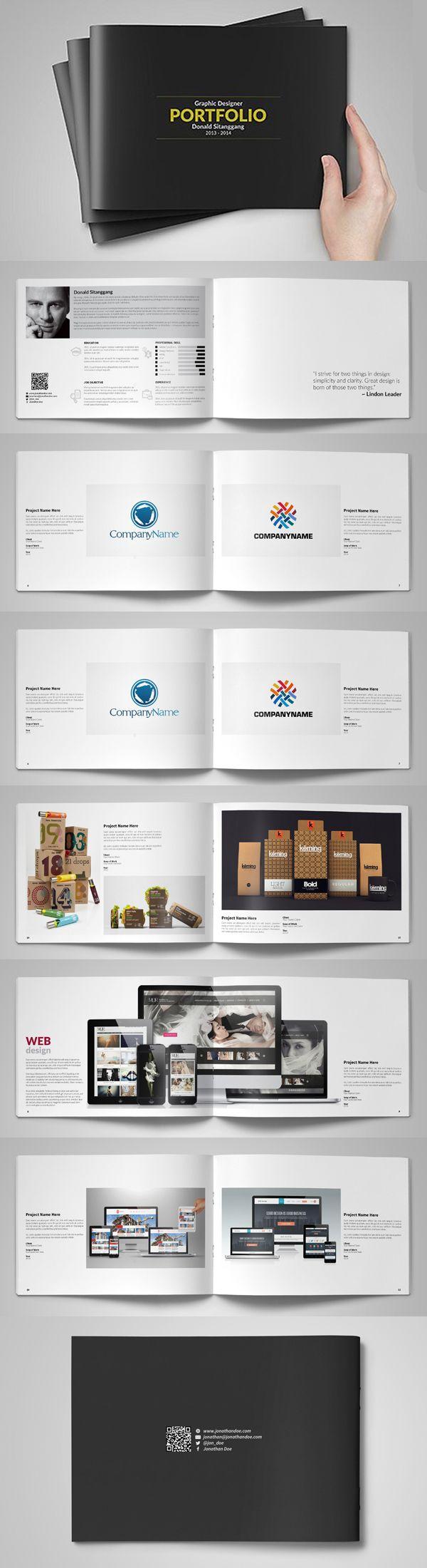 print portfolio design layout wwwimgkidcom the image