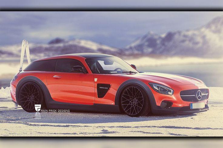 Shooting-Brake-Studien: Verrückte Konzept-Sportwagen von Rain Prisk Designs