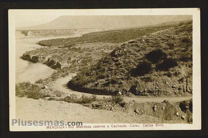 Camino a Cacheuta  Rio Mendoza