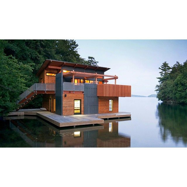 46 best images about modern boathouse on pinterest ontario lakes and decks. Black Bedroom Furniture Sets. Home Design Ideas