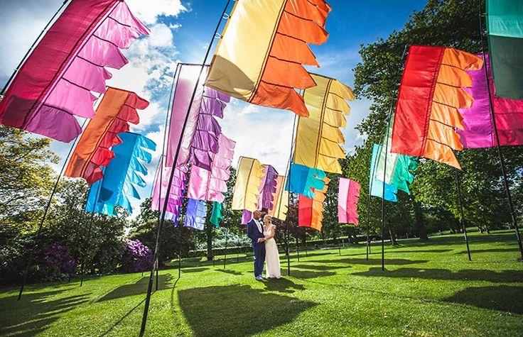 Glastonbury Inspired Festival Garden Party Wedding   Whimsical Wonderland Weddings