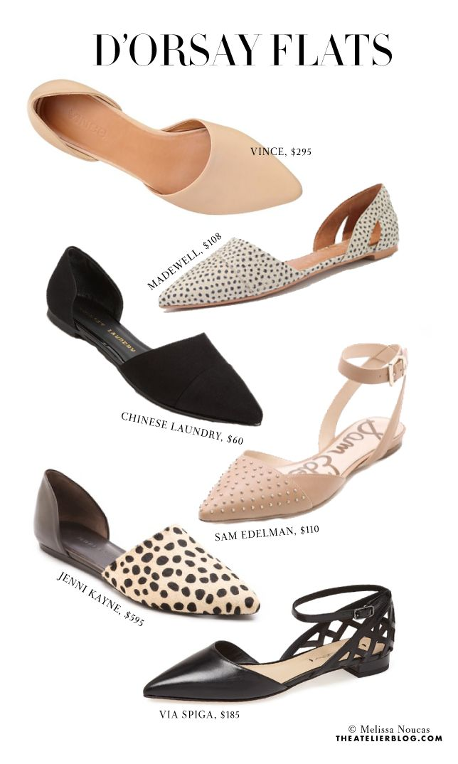 The Spring Shoe: d'Orsay Flats