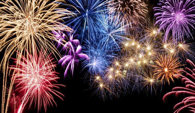 Fireworks Schedule 2014