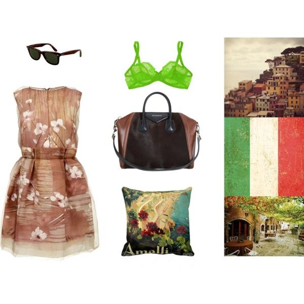 03 by heapinghazelnut on Polyvore featuring Mode, Dolce&Gabbana, Deborah Marquit, Givenchy, Ray-Ban and Cinque