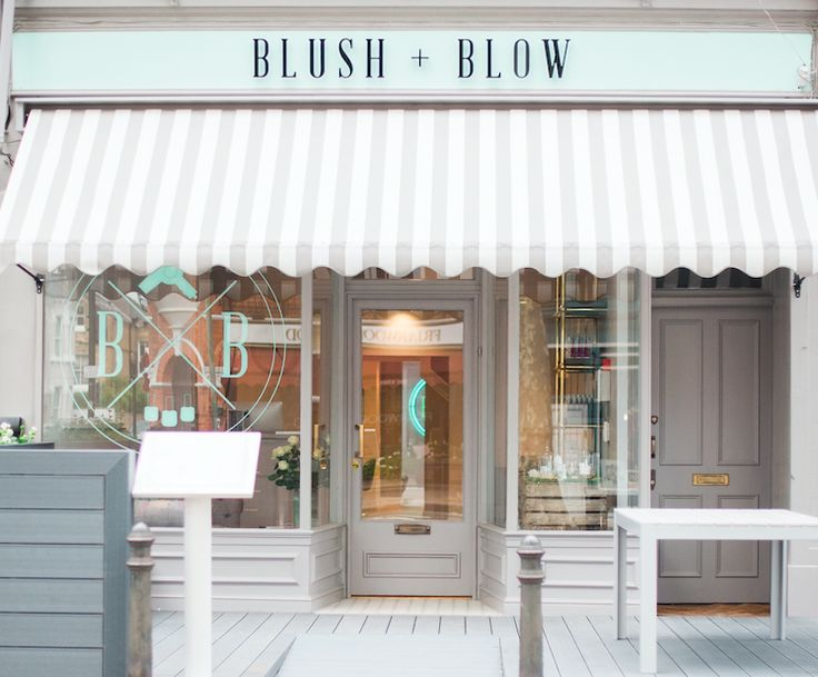 Press launch of blow dry and beauty bar Blush  Blow