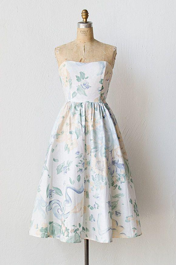 vintage 1980s dress | 80s dress | Touring Crete Dress