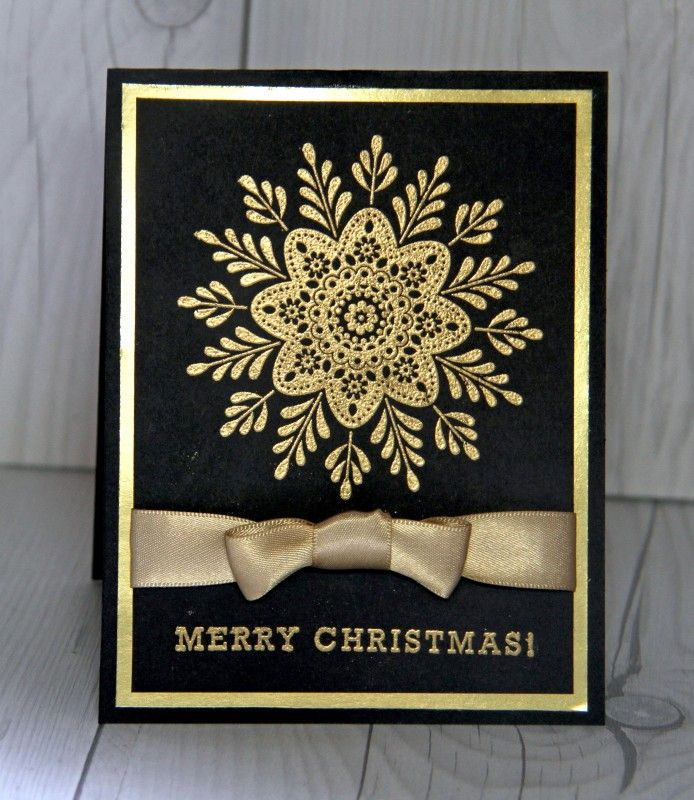 Golden Holidays by Rostergold - Cards and Paper Crafts at Splitcoaststampers