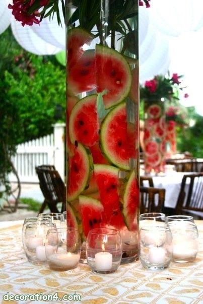 Best ideas about watermelon centerpiece on pinterest