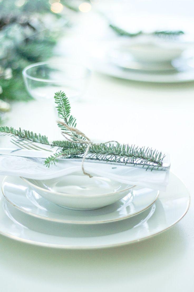 Winter Table Setting, Plate Setting | Katusha Henderson Blog