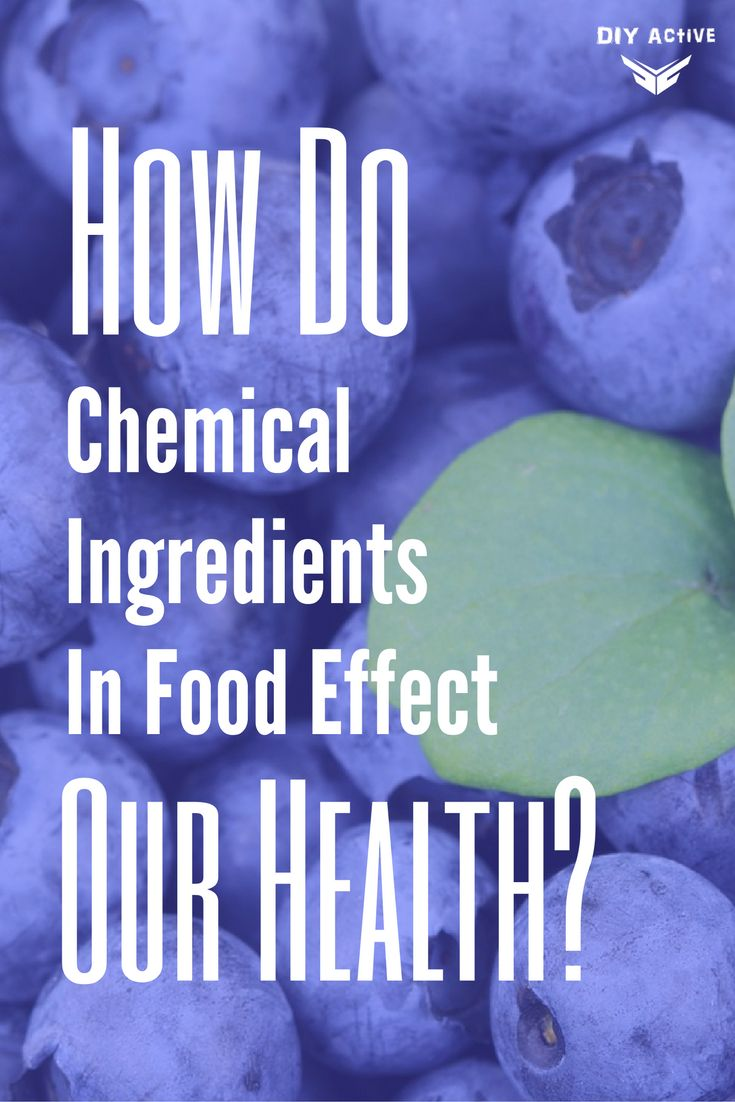 How Do Chemical Ingredients In Food Effect Our Health? via @DIYActiveHQ