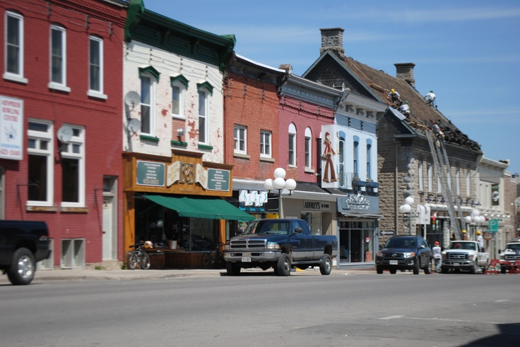 Arnprior, ON - I was here at the military base for an emergency preparedness course when I was area coordinator for the Prince George Emergency Program.