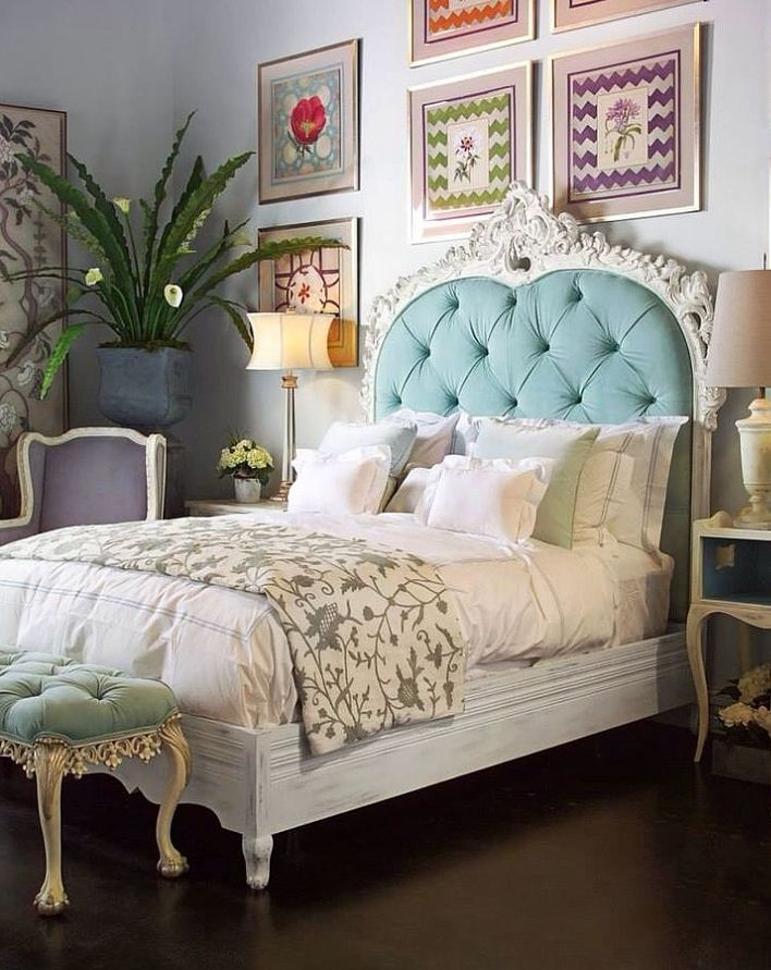 Playful Colors This guest bedroom from reader