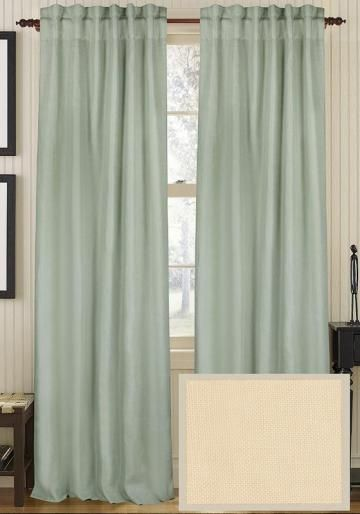Classic Linen Curtain Panel    @Home Decorators Collection
