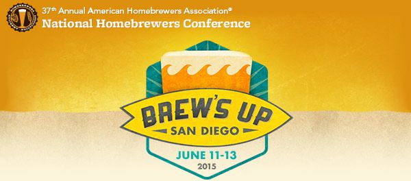 from the AHA: 2015 AHA National Homebrewers Conference Registration Details Registration Application Window: February 18-24 Brew's up, beer-loving friends! We're bringing the 2015 National Homebrew...