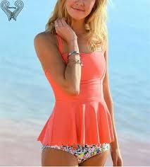 Image result for teens two piece swimwear nz tankini modest
