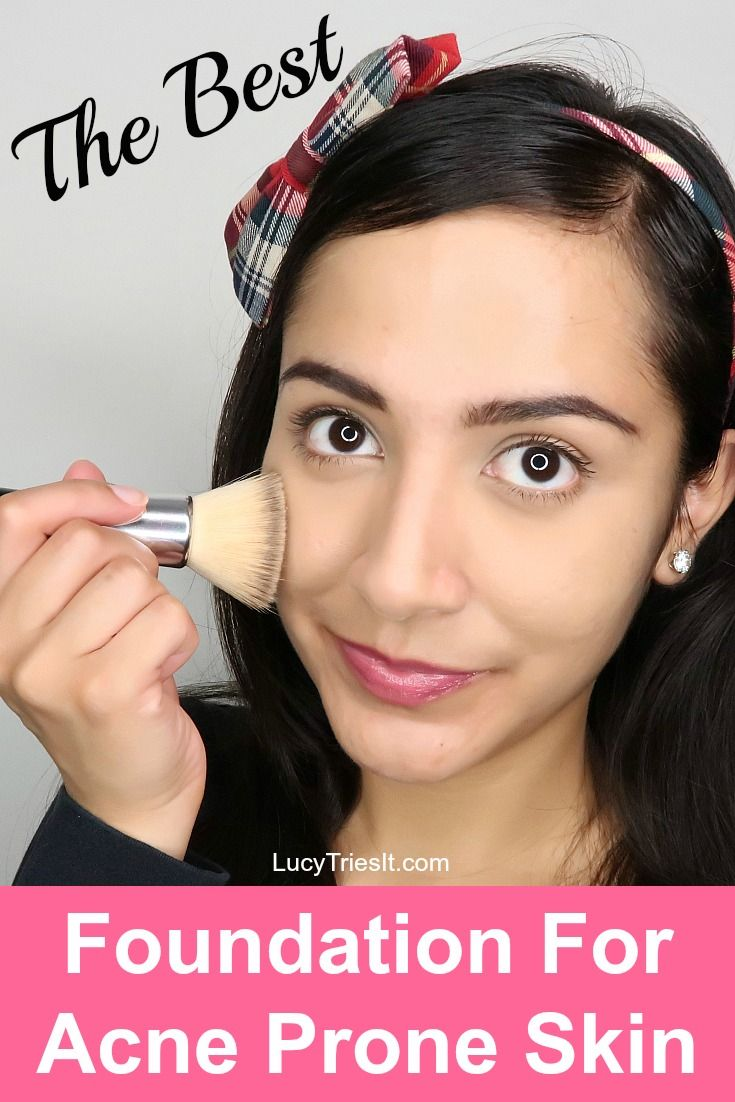 Best Mineral Foundation For Acne Prone Skin Best