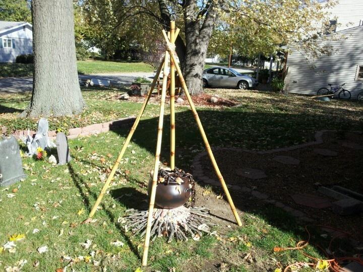 Halloween cauldron I just finished