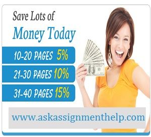 Get high quality Finance assignment and homework help now by US and UK experts, please visit http://www.askassignmenthelp.com/finance-assignment-help.html