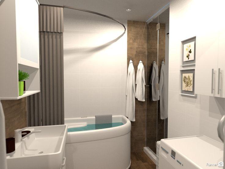 22 best Planner 5D designs: bathrooms images on Pinterest | Design ...
