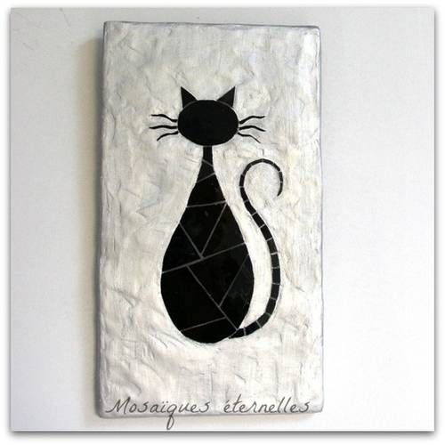 """Tableau """"chat noir"""""""
